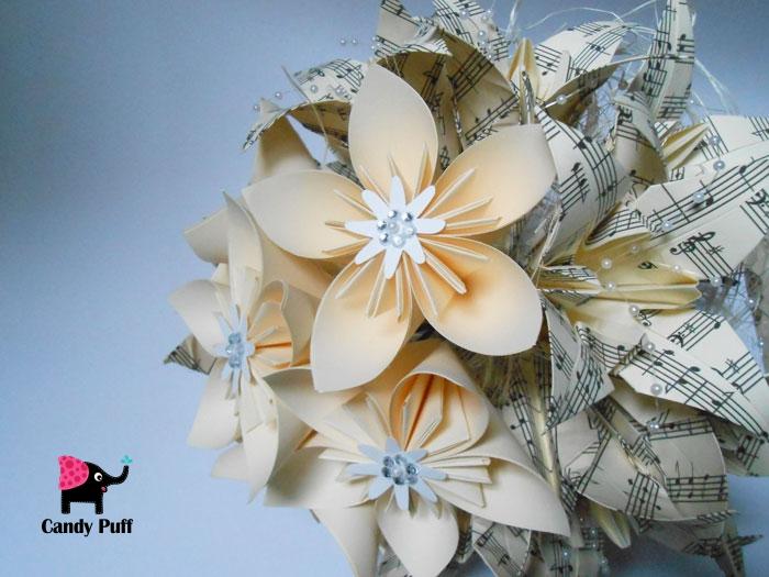 Bouquet de Flores de Papel 4