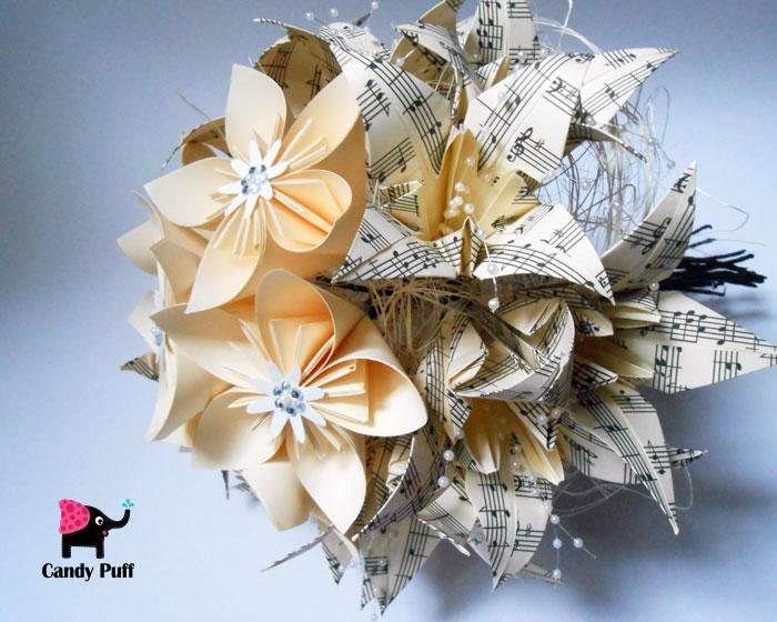 Bouquet de Flores de Papel 3