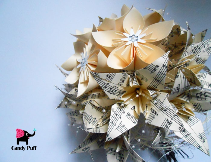 Bouquet de Flores de Papel 2