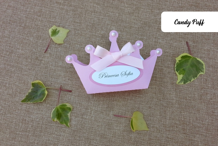 Lembranças coroa de princesa para aniversário de menina