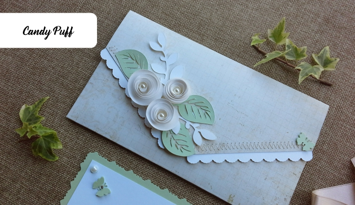 Envelope Floral Bege 2