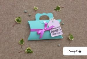 Embalagem criativa com chocolates