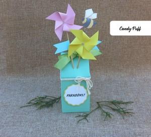 Embalagem Criativa com Mensagem de Parabéns