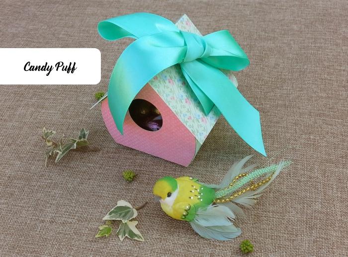 chocolates embalagem ninho de pássaro