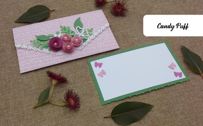 Envelope Floral Rosa 2