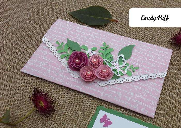 Envelope Floral Rosa 3