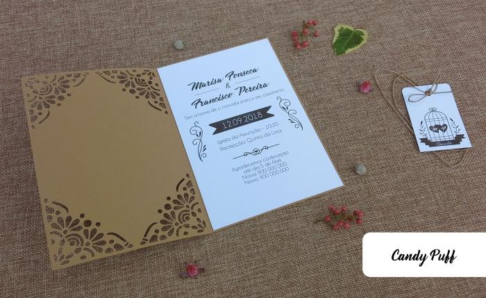 Convites de Casamento Bird Cage