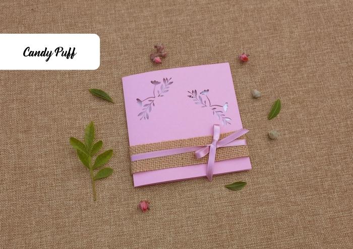 Envelope de Casamento Rosa