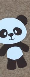 Convite de aniversário Panda
