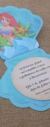 Convite Ariel para Aniversário