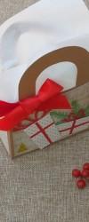 Presente de Natal com chocolates