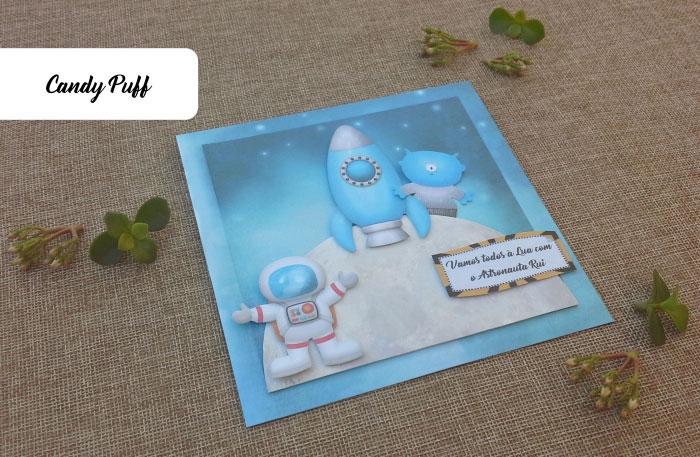 Convite Astronauta