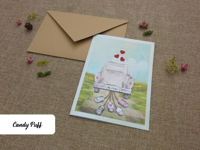 Convites de Casamento Just Married