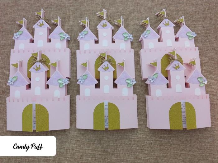 convites castelo de princesa