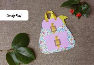 convite de aniversário para menina inspirado numa mochila