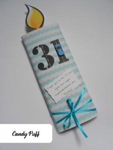 Telegrama de Chocolate Parabéns
