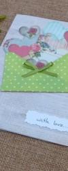 Postal Envelope com Corações