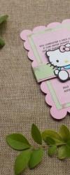 Convites de Aniversário Hello Kitty
