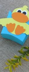 lembrança de aniversário pato
