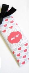 telegrama de chocolate amor