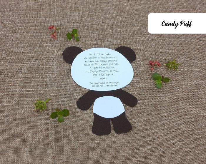 Texto de Convite Panda