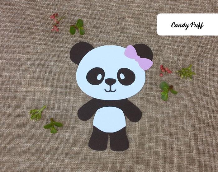 Convites Aniversário Panda
