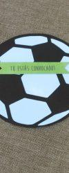 Convites de Aniversário Futebol