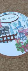 Cartão de Natal para Mensagem