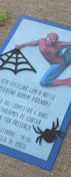 Convites Homem-Aranha