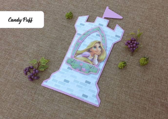 Convites Rapunzel