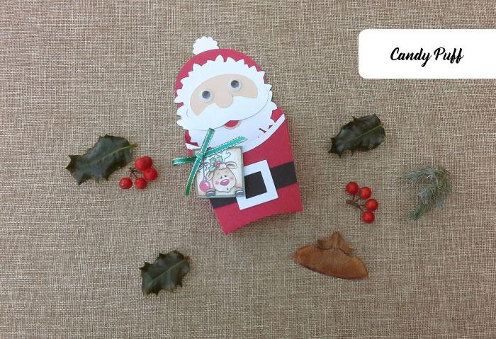 Embalagem Pai Natal para Guloseimas