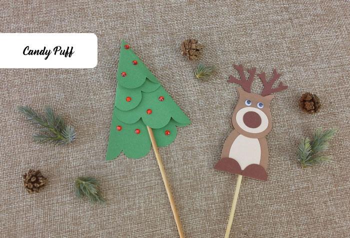 Lembranças de Natal Baratas para Crianças com Gomas