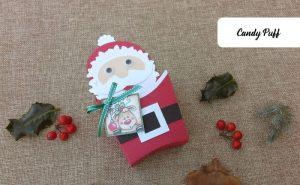 Lembranças Pai Natal que consistem em Embalagens para Guloseimas