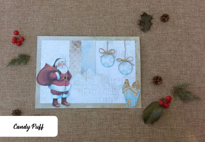 postais personalizados para oferecer no natal