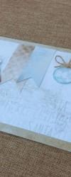 Postal de Natal para mensagem