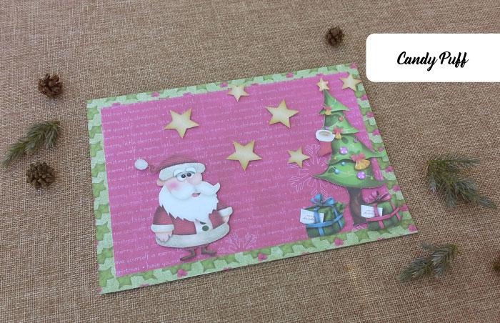 Postal de Natal engraçado e original para mensagem de boas festas