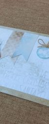 Postal de Natal Personalizado e Bonito com uma Fotografia para oferecer à Família e Amigos