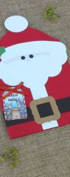 Postal Pai Natal para Mensagem