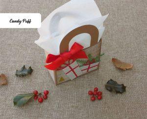 Presente de Natal Criativo com chocolates