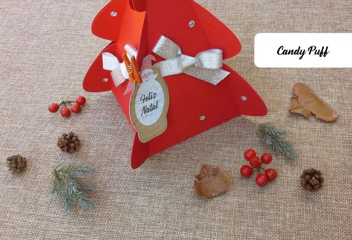 presente de natal personalizado com bombons