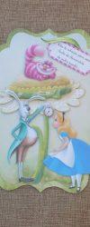 Convite Alice no País das Maravilhas