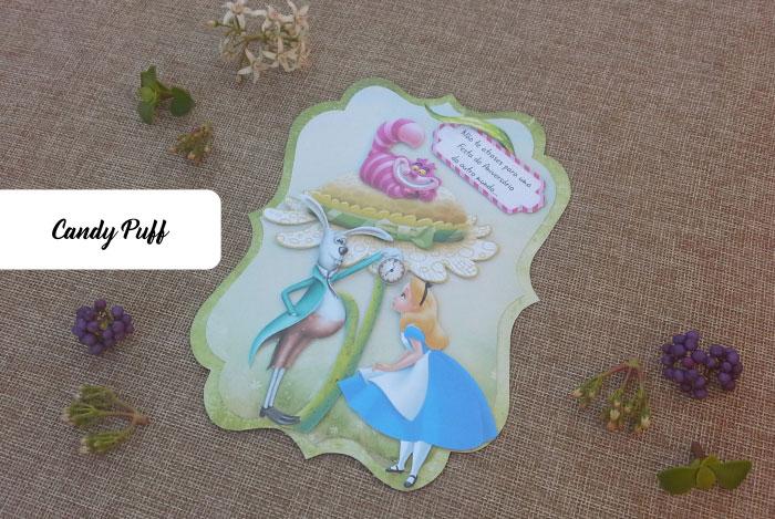 Convite de Aniversário Alice no País das Maravilhas