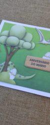 Convite de Aniversário Dinossauros