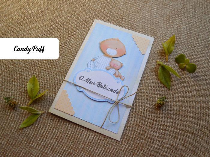 Convites para Batizado menino