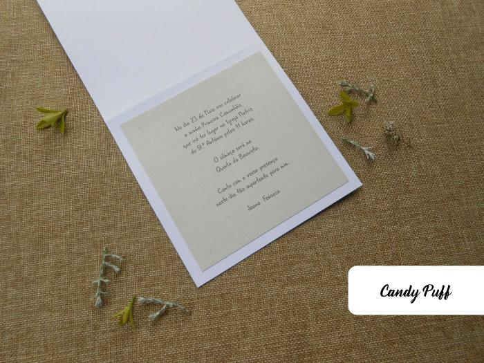texto do convite de primeira comunhão