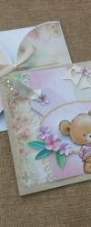convite teddy bear