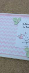 Livro de Honra Batizado de Menina