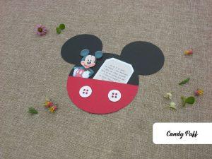 Convites Mickey para Aniversário