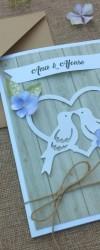 Convite birds in love