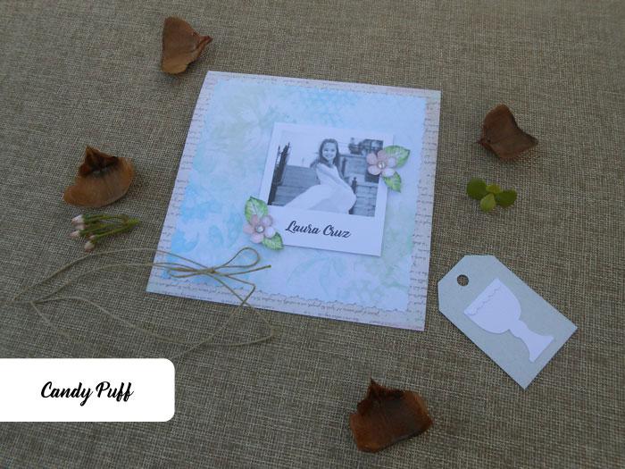 Convites Primeira Comunhão com fotografia